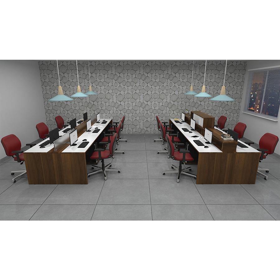 Plataforma de Trabalho com pé painel